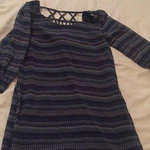 Chiffon Short Dress